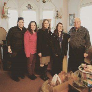 Nonperishable donations delivered
